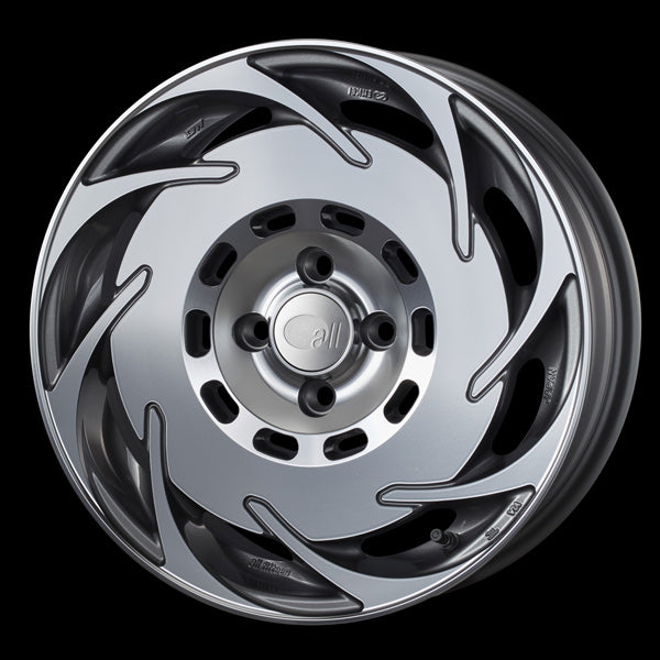 Enkei Japan all fifteen - 16x6.5J - 4x100 - ET: 38 (Machining Gunmetallic) - JDM-315-665-4938MCG