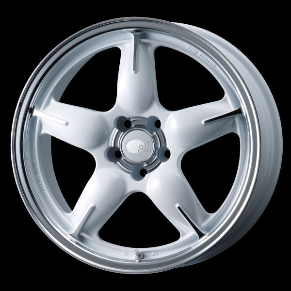 Enkei Japan all five - 17x7.5J - 5x112 - ET: 45 (Machining Pearl White) - JDM-305-775-4445MCPW