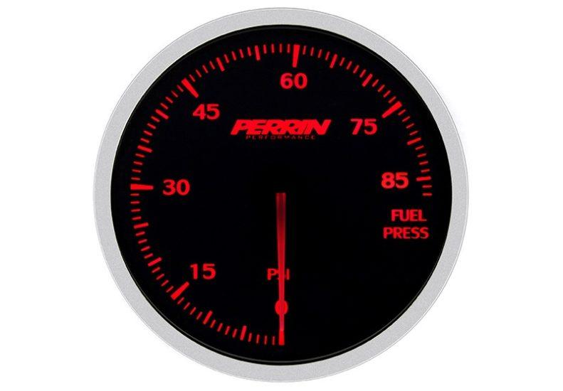 Perrin White,Red Fuel Pressure - Gauge 60mm - 85psi - RZCrewEurope