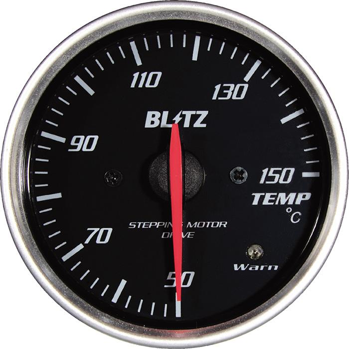 Blitz White Oil temperature,Water Temperature Racing Meter SD - 60mm - 50-150C - RZCrewEurope