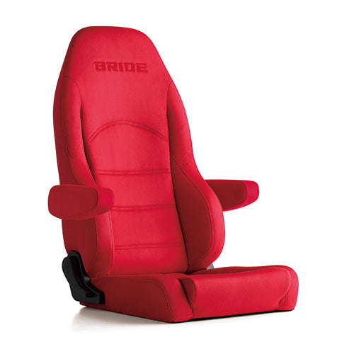 Bride Digo III Light Cruz Reclinable Seat - Frp - Red-D44BBN - Rzcrewgarage