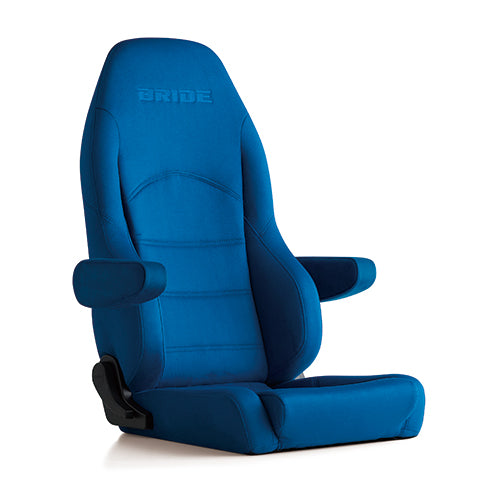 Bride Digo III Light Cruz Reclinable Seat - Frp - Blue-D44CCN - Rzcrewgarage