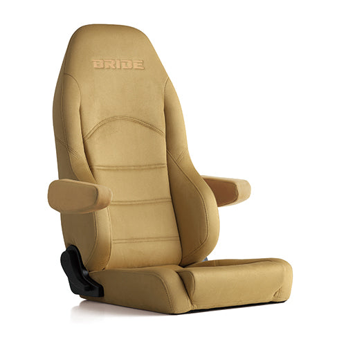 Bride Digo III Light Cruz (Seat Heater) Reclinable Seat - Frp - Beige-D54MMN - Rzcrewgarage