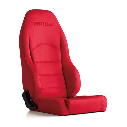 Bride Digo III Light (Seat Heater) Reclinable Seat - Frp - Red-D55BBN - Rzcrewgarage