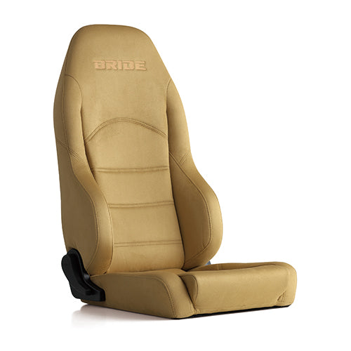 Bride Digo III Light (Seat Heater) Reclinable Seat - Frp - Beige-D55MMN - Rzcrewgarage