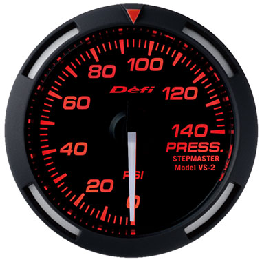 Defi Red Racer Oil Pressure Gauge - 52mm - 0-140 Psi - RZCrewEurope