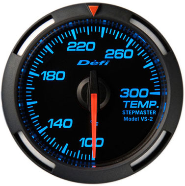 Defi Blue Racer Oil Temperature,Water Temperature Gauge - 52mm - 100-300F - RZCrewEurope