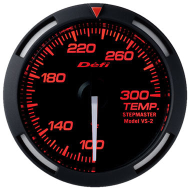 Defi Red Racer Water Temperature,Oil Temperature Gauge - 52mm - 100-300 F - RZCrewEurope