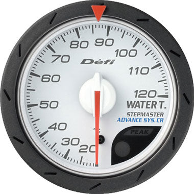 Defi Blue,Amber Advance CR Water Temperature Gauge - 52mm - 0-120C - RZCrewEurope