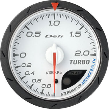 Defi Blue,Amber Advance CR Boost Gauge - 60mm - 2 Bar - RZCrewEurope