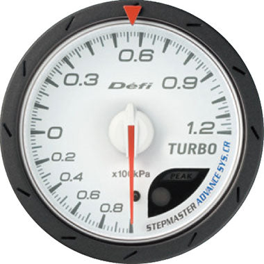 Defi Blue,Amber Advance CR Boost Gauge - 60mm - 1.2 Bar - RZCrewEurope