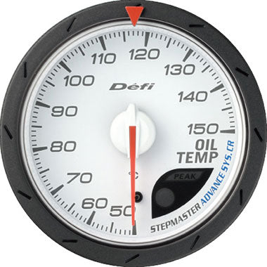 Defi Blue,Amber Advance CR Oil Temperature Gauge - 60mm - 30-150C - RZCrewEurope