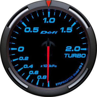 Defi Blue Racer Boost Gauge - 60mm - 2 Bar - RZCrewEurope