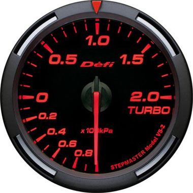 Defi Amber Racer Boost Gauge - 60mm - 2 Bar - RZCrewEurope