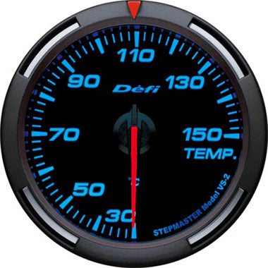 Defi Blue Racer Oil Temperature,Water Temperature Gauge - 60mm - 30-150C - RZCrewEurope