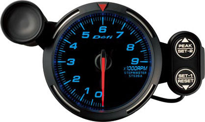 Defi Blue Racer RPM Gauge - 80mm - 9000 Rpm - RZCrewEurope