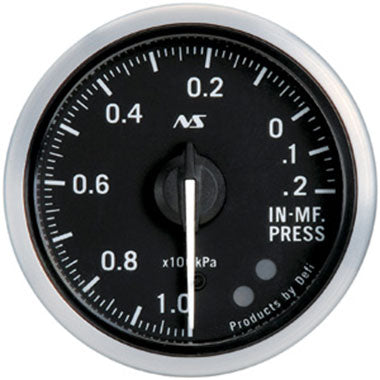 Defi Green,Amber Advance RS Vacuum Gauge - 52mm - 20kPa - RZCrewEurope