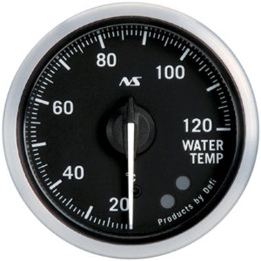 Defi Green,Amber Advance RS Water Temperature Gauge - 52mm - 20-120C - RZCrewEurope