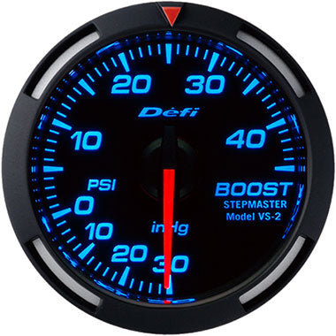 Defi Blue Racer Boost Gauge - 52mm - 45 Psi - RZCrewEurope