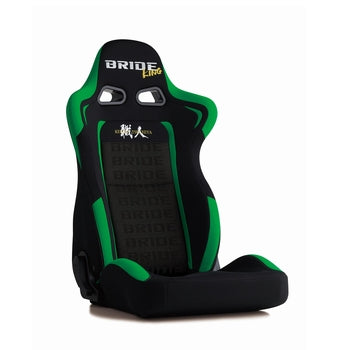 Bride Euroster II King Reclinable Seat - Frp - Black,Green-E32DHN - Rzcrewgarage