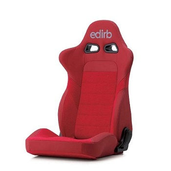 Edirb 032 Ultra Suede Reclinable Seat - Frp - Red-E32RNB - Rzcrewgarage