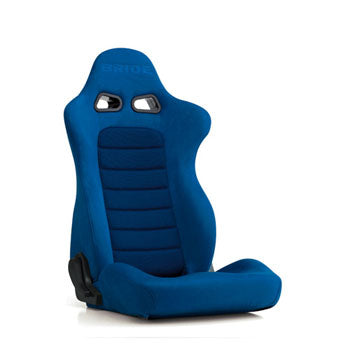 Bride Euroster II (Seat Heater) Reclinable Seat - Frp - Blue-E35CCN - Rzcrewgarage