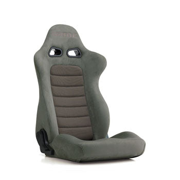 Bride Euroster II (Seat Heater) Reclinable Seat - Frp - Grey-E35LLN - Rzcrewgarage