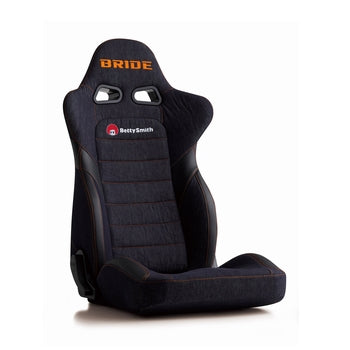 Bride Euroster II Betty Smith (Seat Heater) Reclinable Seat - Frp - Blue-E35S1N - Rzcrewgarage