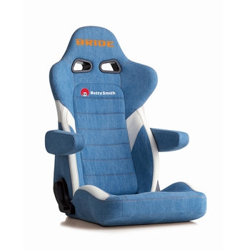 Bride Euroster II Cruz Betty Smith Reclinable Seat - Frp - Blue-E54S2N - Rzcrewgarage
