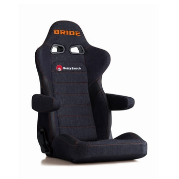 Bride Euroster II Cruz Betty Smith (Seat Heater) Reclinable Seat - Frp - Blue-E57S1N - Rzcrewgarage