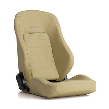 Bride Euroster II Sporte Reclinable Seat - Frp - Beige-EG1PMF - Rzcrewgarage