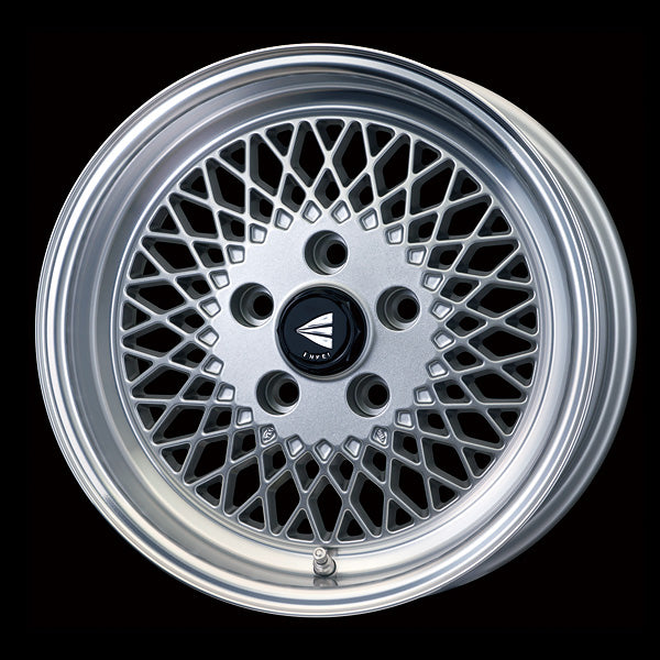 Enkei Japan Enkei 92 - 15x5J - 4x100 - ET: 45 (Silver with Machined Lip) - JDM-465-550-4945SML