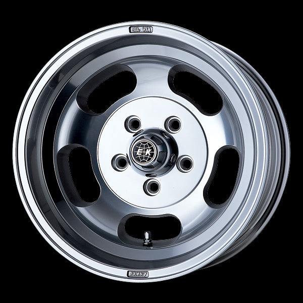 Enkei Japan Enkei Dish - 15x10J - 5x114.3 - ET: 0 (Barrel Polish) - JDM-466-5100-650BP