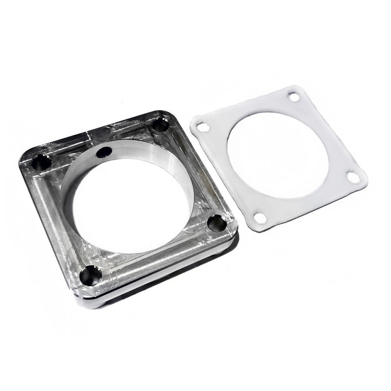 Rzcrew Racing - Throttle Body Spacer for Methanol Kit (NPT) for Mitsubishi Lancer Evo X - CZ4A