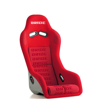 Bride Exas III Fixed Bucket Seat - Carbon Aramid - Red-F33IMR - Rzcrewgarage
