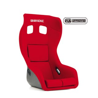Bride Proface Fixed Bucket Seat - Frp - Red-F39BMF - Rzcrewgarage