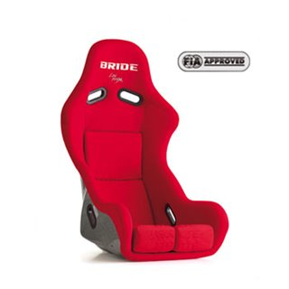 Bride Zieg III Type R Fixed Bucket Seat - Frp - Red-F67IMF - Rzcrewgarage