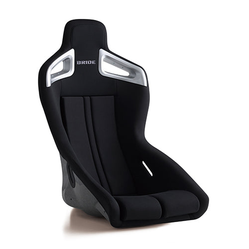 Bride A.i.R Fixed Bucket Seat - Frp - Black-F86AMF - Rzcrewgarage