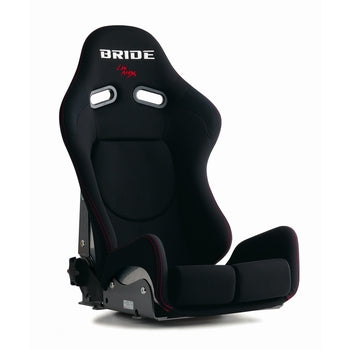 Bride Gias II Sport Standard Cushion Reclinable Seat - Frp - Black-G22AMF - Rzcrewgarage