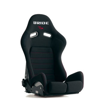 Bride Gias II Sport Limited Black Stitch On Standard Cushion Reclinable Seat - Frp - Black-G22SMF - Rzcrewgarage