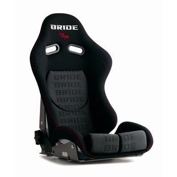 Bride Stradia II Sport Reclinable Seat - Frp - Black Graduation-G23HMF - Rzcrewgarage