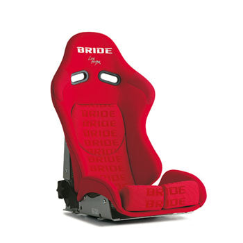 Bride Stradia II Reclinable Seat - Carbon Aramid - Red-G23IMR - Rzcrewgarage
