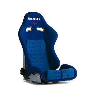 Bride Stradia II Reclinable Seat - Super Aramid - Blue-G23JZR - Rzcrewgarage