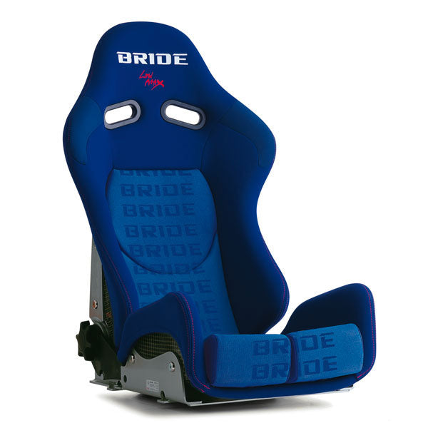 Bride Gias II Low Cushion Reclinable Seat - Carbon Aramid - Blue-G32JMR - Rzcrewgarage