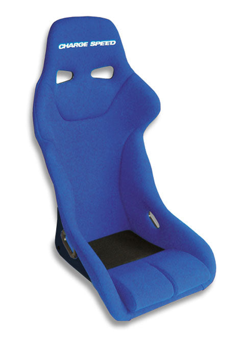 Charge Speed Genoa Serie Fixed Bucket Seat - Frp - Blue-GF-03 - Rzcrewgarage