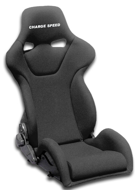 Charge Speed Genoa-R Reclinable Seat - Carbon - Black-GRC-01 - Rzcrewgarage