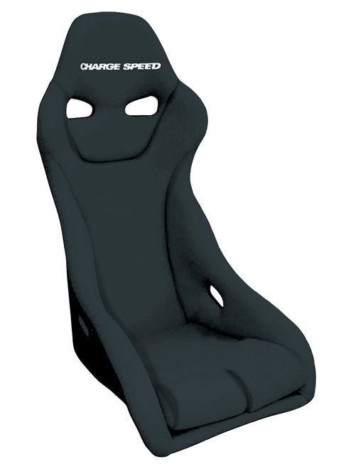 Charge Speed Genoa-S Fixed Bucket Seat - Kevlar - Black-GSK-01 - Rzcrewgarage
