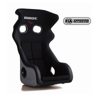 Bride Xero RS Fixed Bucket Seat - Frp - Black-H01AMF - Rzcrewgarage