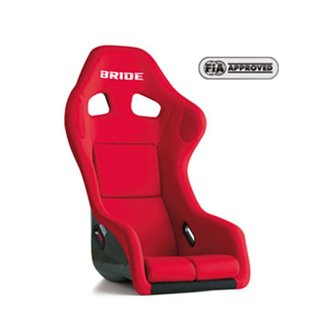 Bride Zeta III Plus Fixed Bucket Seat - Carbon Aramid - Red-H31BMR - Rzcrewgarage