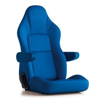 Bride Streams Cruz (Seat Heater) Reclinable Seat - Frp - Blue-I35CCN - Rzcrewgarage